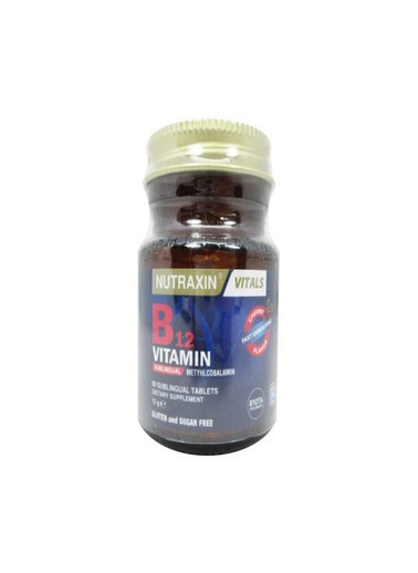 Nutraxin Nutraxin B12 Vitamin 1000mcg 60 Tablet Renksiz